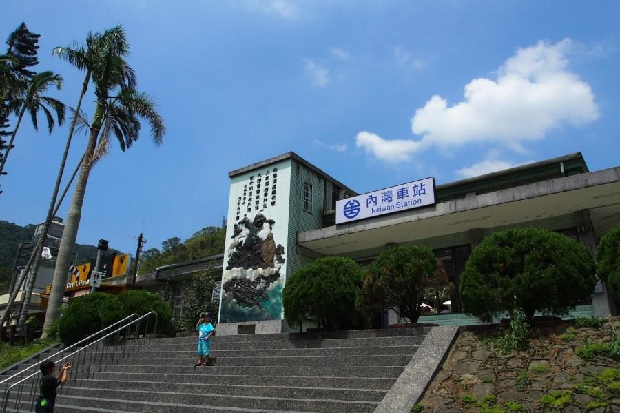 台湾交通情報:台湾観光鉄道・内湾線